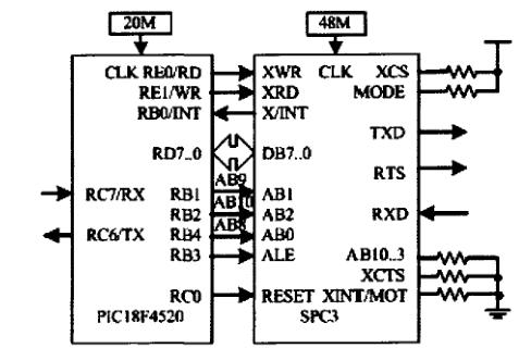 空气流量传感器的电路图