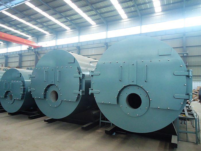 1吨全自动卧式燃油蒸汽锅炉