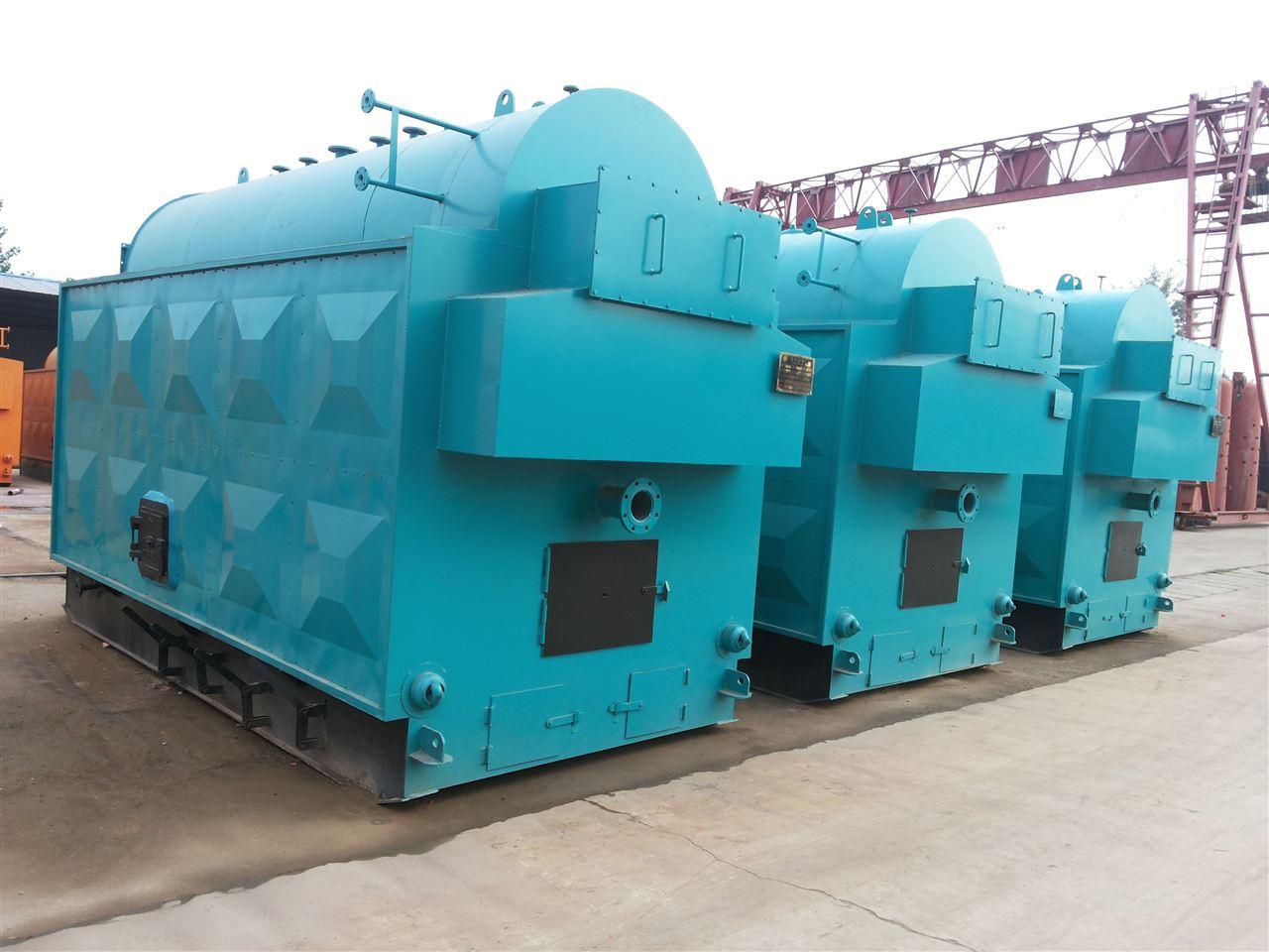 dzh2 1.25 t 新型环保燃料锅炉 dzh2吨卧式手烧生物质蒸汽锅炉