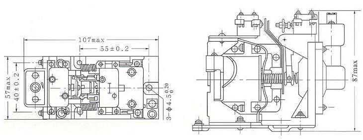 js7-2n js7-2n空气式时间继电器