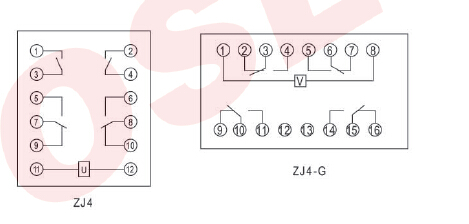 时控钟连接时间继电器的接线图