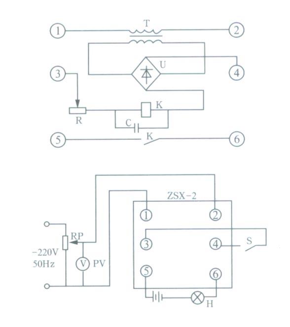 当端了3和端子4(接水位电极)端子5和6接中间继电器或改号指示元件.