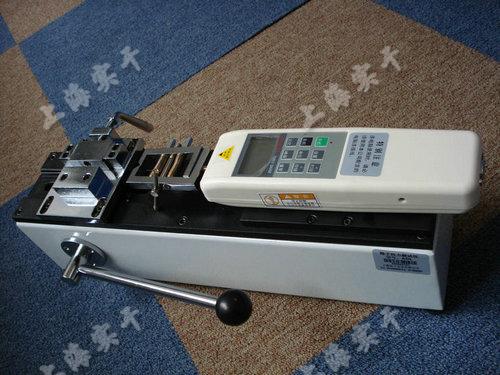 手动卧式测试台图片 (配SGHF数显推拉力计实验图)