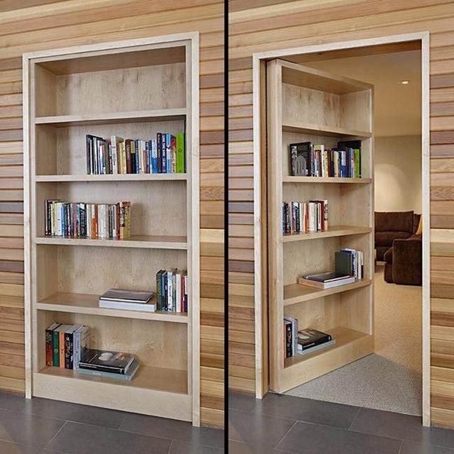 书柜式隐形门